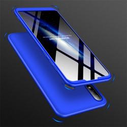 Capa Zenfone Max Pro M2 ZB631KL Cobertura Completa das Bordas Azul