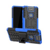 Capinha Asus Zenfone 6 ZS630KL TPU+Plástico Azul
