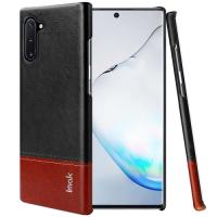 Capa IMAK Series para Samsung Note 10 Preto-Marrom