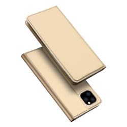 Capa Iphone 11 Pro Max Flip Skin Pro Series Dourado