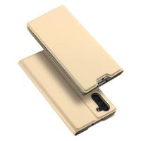 Capa para Samsung Note10 Skin Pro Series Flip Dourado