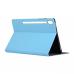 Capa para Samsung Tab S6 T865 Couro Azul Claro