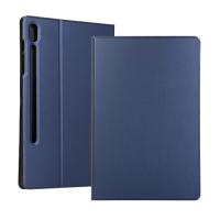 Capa para Samsung Tab S6 T865 Couro Azul