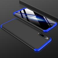 Capa Xiaomi Mi A3 Cobertura Completa das Bordas Preto-Azul