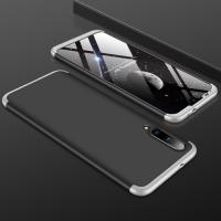 Capa Xiaomi Mi A3 Cobertura Completa das Bordas Preto-Prata