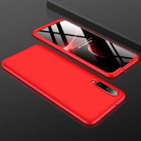 Capa Xiaomi Mi A3 Cobertura Completa das Bordas Vermelho