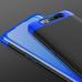 Capa Samsung A80 Cobertura Completa das Bordas Preto-Azul