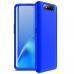 Capa Samsung A80 Cobertura Completa das Bordas Azul