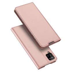 Capa Samsung Galaxy A12 Flip Skin Pro Series Rosê