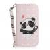 Capinha LG K52 Couro Flip Panda