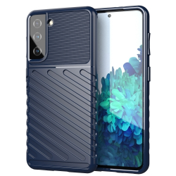 Capinha Samsung S21 5G TPU Thunderbolt Azul