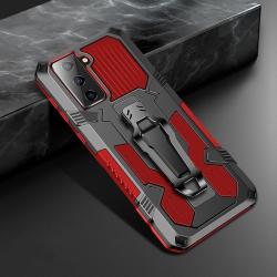 Capa Galaxy S21 5G Warrior Series Vermelho