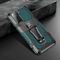 Capa Galaxy S21 5G Warrior Series Verde