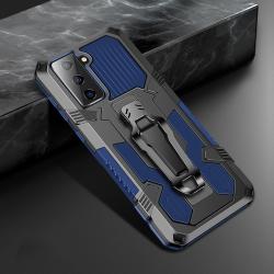 Capa Celular Samsung S21+ 5G Warrior Series Azul