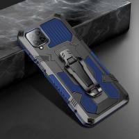 Capa Galaxy A12 Warrior Series Azul