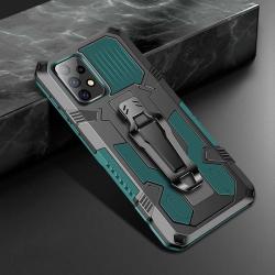 Capa Galaxy A52 Warrior Series Verde
