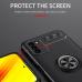 Capinha Xiaomi Poco M3 com Anel de Suporte Preto-Vermelho