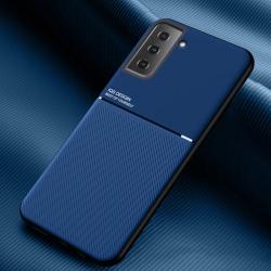 Capa Galaxy S21 5G com Metal Magnético Azul