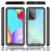 Capa Samsung Galaxy A52 Duas Camadas Azul