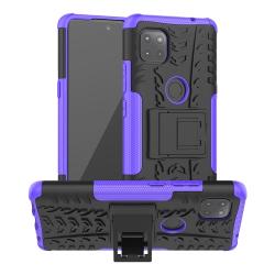 Capa Motorola Moto G 5G TPU e Plástico Roxo