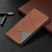 Capa Nokia 5.4 de Couro Flip Magnético Marrom