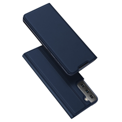 Capa Samsung S21+ Couro Skin Pro Series Azul