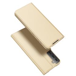 Capa Samsung S21+ Couro Skin Pro Series Rosa