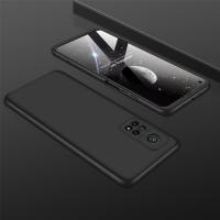 Capinha de Celular Xiaomi Mi 10T / Mi 10T Pro em 3 Partes Preto