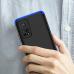 Capinha de Celular Xiaomi Mi 10T / Mi 10T Pro em 3 Partes Preto-Azul