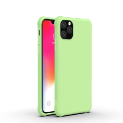 Capinha de Silicone para Iphone 11 Pro Max Verde