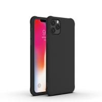 Capinha de Silicone para Iphone 11 Pro Max Preto