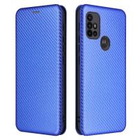 Capa Moto G10 / Moto G10 Power Flip Azul