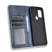 Capa Motorola Moto G10 Couro Flip Azul