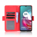 Capa Motorola Moto G30 Couro Flip Vermelho