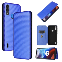 Capa Motorola Moto E7 Power Flip Azul