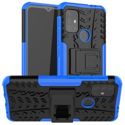 Capa Motorola Moto G20 TPU e Plástico Azul