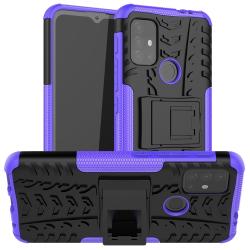 Capa Motorola Moto G20 TPU e Plástico Roxo