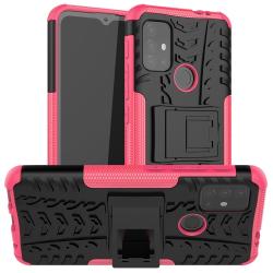 Capa Motorola Moto G20 TPU e Plástico Rosa
