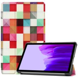 Capa Samsung Galaxy Tab A7 Lite Cubos Coloridios