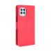 Capa Motorola Moto G100 Flip Couro Vermelho