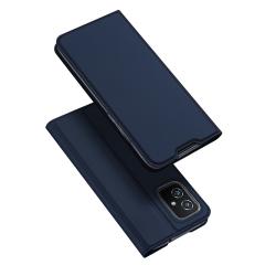 Capa Zenfone 8 de Couro Skin Pro Series Azul