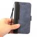 Capa para Celular Realme 8 5G Couro Duas Cores Cinza