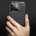 Capa iPhone 13 Pro Max TPU Fibra de Carbono Vermelho