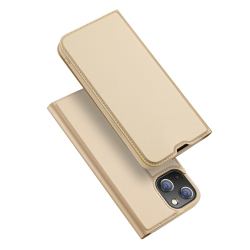 Capa Carteira iPhone 13 Mini Skin Pro Series Dourado