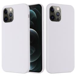 Capinha MagSafe iPhone 13 PRO MAX Silicone Branco