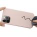 Capinha MagSafe iPhone 13 PRO MAX Silicone Rosa