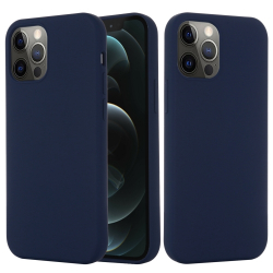 Capinha MagSafe iPhone 13 PRO MAX Silicone Azul