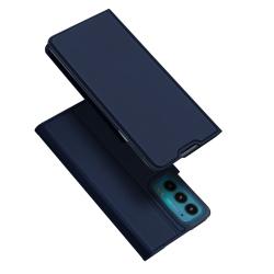Capinha Flip Motorola Edge 20 Skin Pro Series Azul
