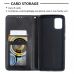 Capa Galaxy A51 Flip Couro Preto