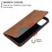 Capa de Couro Samsung Galaxy S20 Ultra Marrom